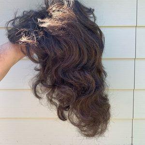 Christine Jordan wig dark brown size P/A